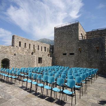 Ljetni bioskop na tvrđavi Forte mare
