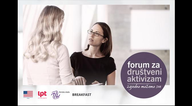 Održan forum za društveni aktivizam u Novom Sadu