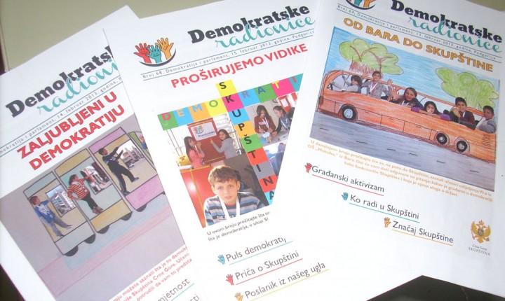 Demokratske radionice-primjer dobre prakse u našem društvu