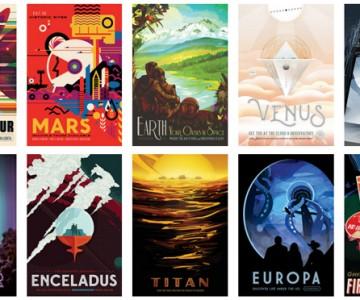 NASA – 14 besplatnih postera o budućnosti putovanja svemirom