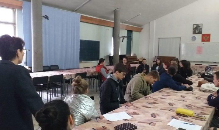 Učenički parlament kroz metodu forum teatra